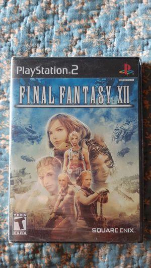 Final fantasy 12 ps2 for Sale in Coventry, RI