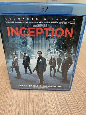 Inception Blu-ray + DVD for Sale in Jacksonville, FL