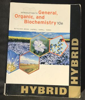 Introduction to General Organic and Biochemistry 10e for Sale in Pasco, WA