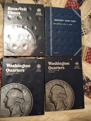 Four coin books for Sale in Burleson, TX