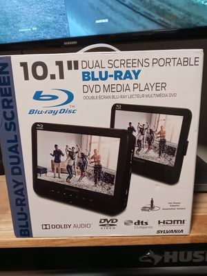 Blue ray dual screens dvd media player for Sale in Ellenwood, GA