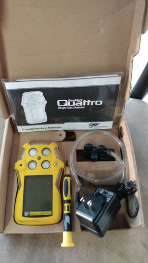 Gas alert quattro gas detector for Sale in Bartow, FL
