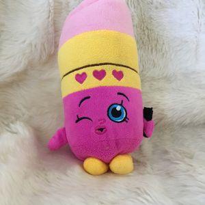Shopkins/lippy lips stuffed animal for Sale in Menifee, CA
