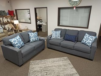 New Sofa and Loveseat Set, Steel, SKU# ASH145043538TC for Sale in Santa Fe Springs,  CA