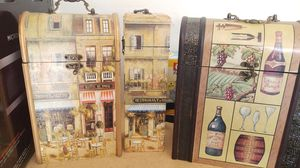 Kitchen storage containers and wine holder for Sale in GLMN HOT SPGS, CA