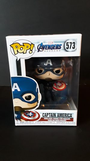 Funko Pop!Avengers Endgame Captain America for Sale in Federal Way, WA