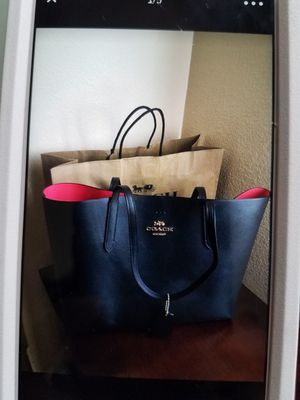 New Black coach purse for Sale in Perris, CA