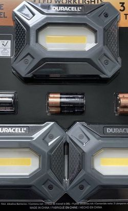 Duracell 3 LED Worklights for Sale in Tustin,  CA