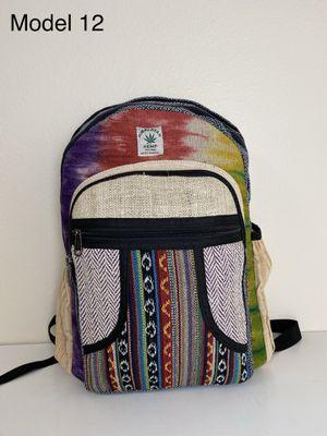 All Natural Handmade Boho/Hippie Hemp Backpack/Laptop Bag for Sale in Portland, OR