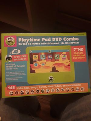 Playtime pad and dvd combo for Sale in Bismarck, ND