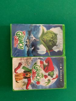 Original Grinch VHS Movie With Jim Carrey! for Sale in Bratenahl,  OH