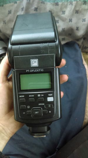Canon digital flash camera set for Sale in Stockton, CA