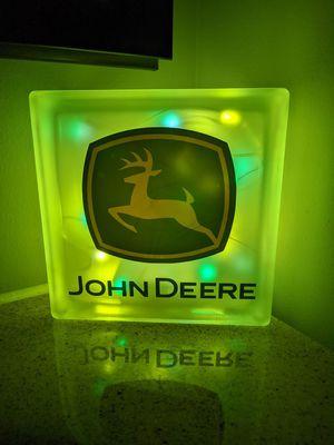 John Deere custom Glass Light Block for Sale in Knoxville, TN