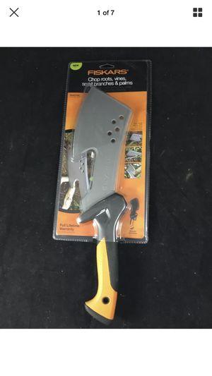 Fiskars Billhook Steel Clearing Hatchet Machete NEW!!! for Sale in Modesto, CA