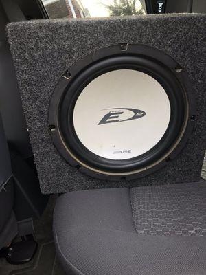 Alpine speaker for Sale in Alexandria, VA