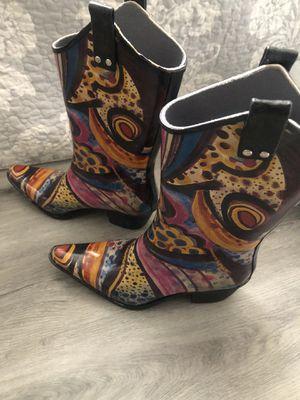 Women's rain boot size 7 for Sale in Las Vegas, NV