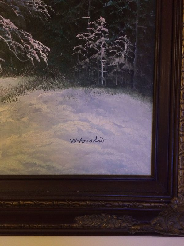 Amadio oil painting