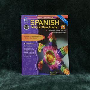 Carson Dellosa   Skills for Success: Spanish Workbook   6th–12th Grade for Sale in Los Angeles, CA