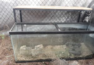 55 gallon fish tank for Sale in Port Richey, FL