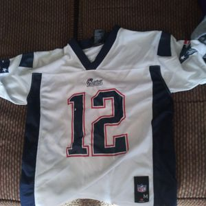 Patriots Jersey Yth Med for Sale in Guthrie, OK