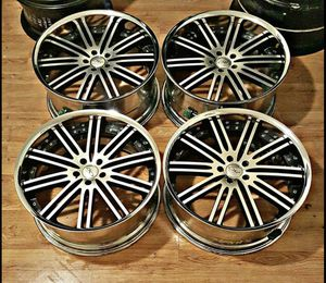 22 Staggered Bz0 Rims for Sale in Houston, TX