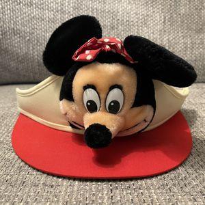 Vintage 1970s Disney Mickey Mouse Plush Visor Hat Disneyland Disney World Wdw for Sale in Fresno, CA