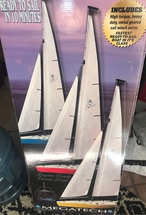 Sailing boat with control remote for Sale in San Bernardino, CA