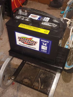 Brand new 27dc Interstate deep cycle battery for Sale in Hillsboro, OR