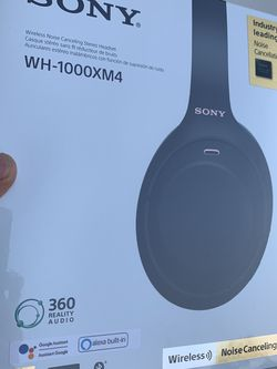 SONY WH-1000XM4 WIRELESS HEADPHONES for Sale in Ontario,  CA