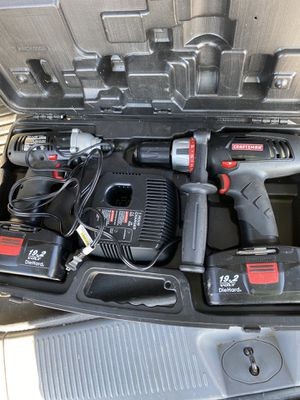 Craftsman Cordless Drill & Impact Driver for Sale in Fort Wayne, IN