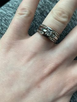 Wedding Ring With Engagement Band for Sale in Silverdale,  WA