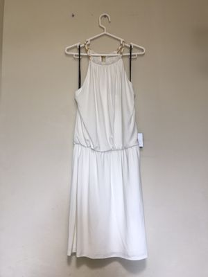 Laundry by Shelli Segal White Dress size 8 for Sale in Alhambra, CA