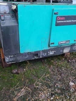 Onan 7500 Watt Diesel Generator for Sale in Canby,  OR