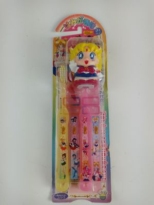 Vintage 2001 Bandai Sailor Moon Toothbrushs & Cover. New in USA for Sale in Austin, TX