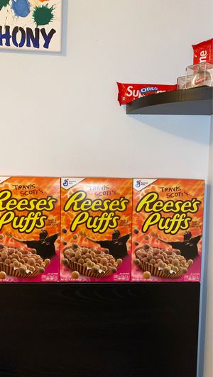 Travis Scott's Cereal box for Sale in Deltona, FL