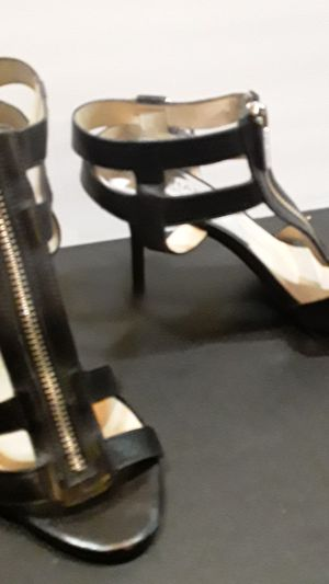 Michael Kors black leather heels size 6 for Sale in Santa Monica, CA