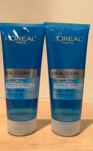 Set of 2 Loreal foaming gel cleanser: both for $5 for Sale in Alexandria, VA