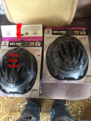 1 Adult Bicycle Helmet New! for Sale in Aberdeen, WA