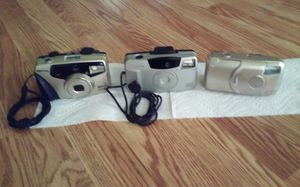 35 MM canon. Zoom. 35 MM Pentax Zoom. 35MM Vivi tar. All. $50 for Sale in Pawtucket, RI
