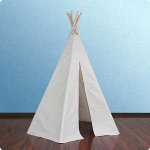 7.5 ft canvas/ wood teepee tent for Sale in Las Vegas, NV