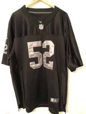 Oakland Raiders Khalil Mack #52 Nike NFL Jersey for Sale in Denver, CO