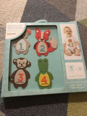 Baby's First Year felt belly stickers for Sale in Alexandria, VA
