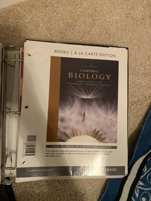 Biology Textbook for Sale in Fishers, IN