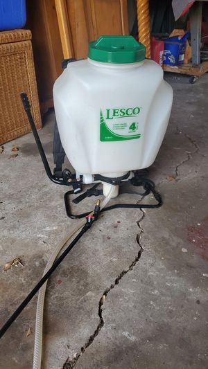 Lesco 4gal backpack sprayer for Sale in Lake Worth, FL