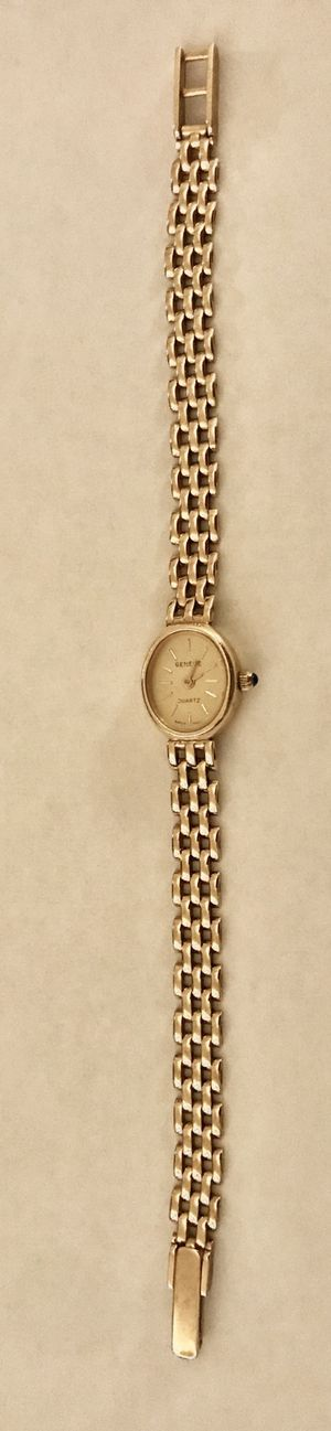 14k solid gold Vintage Geneve ladies watch.SALE for Sale in Beverly Hills, CA