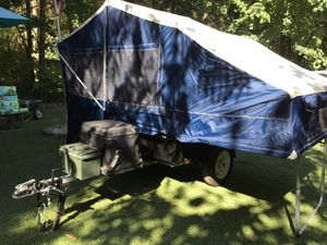 2011 Bunkhouse camping pop up trailer for motorcycle or car/truck. for Sale in Yelm, WA