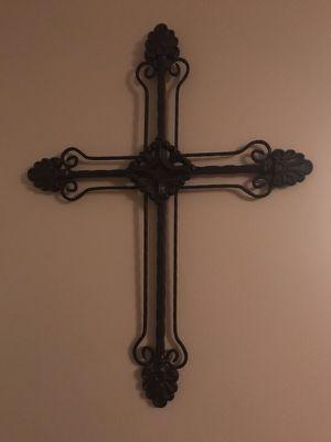 Metal Wall Decorative Cross for Sale in Lynn, MA