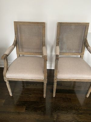 RH arm chairs for Sale in Arcadia, CA