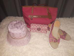 Coach shoes size 10? wallet, purse, hat MAKE OFFER for Sale in Trezevant, TN