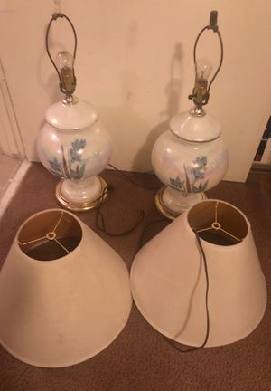 Two lamps for $20 for Sale in Bystrom, CA